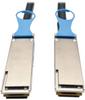 QSFP28 to QSFP28 100GbE Passive DAC Cable (M/M), QSFP-100G-CU3M Compatible, 3 m (10 ft.) -- N282-03M-28-BK - Image