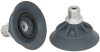 Flat Suction Cup (Round) for Highly Dynamic Handling of Wood SHFN 50 NK-45 G1/4-AG MOS -- 10.01.01.11695