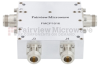 N Dual Directional Coupler 40 dB 4.2 GHz Rated to 200 Watts -- FMCP1016 -Image