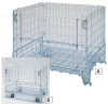 COWIN GLOBAL Electro-Zinc Plated Collapsible Wire Containers -- 5721201 - Image