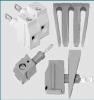 Panel Mount & Through Chassis Terminal Blocks & Connectors -- MPT275-R