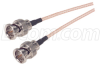 RG179 Coaxial Cable, BNC Male/Male 1.0 ft -- CC179B-1