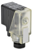 Pneumatic Solenoid Valve Connector: 11mm DIN style plug -- SC11-0