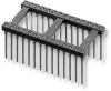 Open-Frame Collet DIP Sockets with Wire Wrap Pins – Series 508 - Image