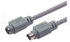 Economy Molded Cable, Mini DIN 8 Male/Female 3.0 ft -- CSMD8MF-3