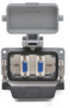 Size 10B Panel Interface Connector: (2) DB9 -- ZP-PNA-10-200 - Image
