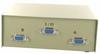 2-Way DB9 Female AB Serial or EGA Monitor Switch Box -- 40D1-10602