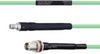 Temperature Conditioned Low Loss SMA Female to TNC Female Bulkhead Cable LL142 Coax in 200 cm -- FMHR0139-200CM -Image