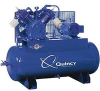 Quincy 15-HP 120-Gallon Two-Stage Air Compressor -- Model 2153DS12HCA23