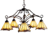 035-IA Mid. Chandeliers-Glass Down -- 494599 - Image