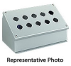 7 x 15 x 7 inch (HxWxD) NEMA 12 Pushbutton Enclosure, sloping top... -- WPBA12