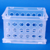 Sterilite® Frosted Clear Small Storage Crate -- 57015