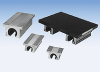 Twin Rail Carriage Assemblies - Aluminum plate with pillow blocks -- TRCA 20-8