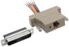 DB25 to RJ45 Modular Serial Adapter (M/F), RS-232, RS-422, RS-485 -- P440-825FM