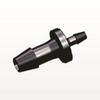 Straight Reducer Connector, Barbed, Black -- HSR6331 -Image