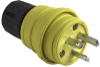 Watertight Rubber Housing Plug, Yellow -- 14W48