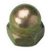 Hex Dome Nut - Brass - Metric - DIN 1587 -- Hex Dome Nut - Brass - Metric - DIN 1587