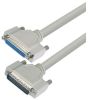 Deluxe Molded D-Sub Cable, HD44 Male / Female, 15.0 ft -- HAD00014-15F -Image