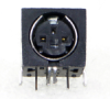 Mini DIN Single Right Angle Receptacles SMD Series -- SMD7FRA110