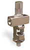 "Cross Heavy Duty Sight Feed Valve, 1/4"" Female NPT Inlet, 1/4"" Male NPT Outlet, Tamperproof -- B748-4 -Image"