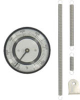 Pipe-Mount Bimetal Surface Thermometer -- Series BTP - Image