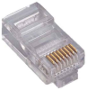 RJ45 CAT5E Plug Solid 50Micron 3Prong 20pk -- 1012-SF-04-20 -- View Larger Image