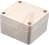 WATERTIGHT ABS PLASTIC ENCLOSURE, LT GRAY W/ LT. GRAY LID, 2.56 X 2.36 X 1.57 -- 70165336