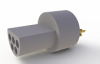 Custom Off The Shelf Micro Circular Connectors - Type Plastic -- A22000-001 - Image