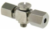 """1/8"""" OD Tubing Compression Fitting -- M5CBT-1018 -- View Larger Image"""