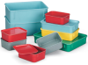LEWISBins+ Fiberglass Nesting Boxes with Stack-On Lids -- 5256917