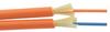 1-Meter Interval OM2 MMF 50/125 Duplex Fiber Cable 3.0mm OD Bend-Insensitive Orange OFNP -- FOBBI30OM2POZ-M -Image