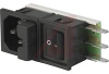 POWER ENTRY MODULES, AC INLET, FUSEHOLDER, ON/OFF SWITCH -- 70080664