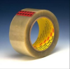 3M Scotch 351 Clear Standard Box Sealing Tape - 48 mm Width x 50 m Length - 3.43 mil Thick - 72318 -- 021200-72318 - Image