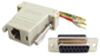 15 Pin Female RJ45 D-Sub Modular Adapter -- 85-239