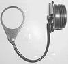 PLUG PROTECTIVE CAP, ALUMINUM -- 04H1629