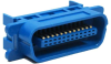 Centronic 24 Male Connector IDC All Plastic Blue -- 24-428 - Image