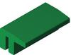 ExtrudedPE Profile -- HabiPLAST MB 02S -- View Larger Image
