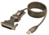 USB-to-Serial Cable Adapter (USB-A to DB25 M/M) -- U209-005-DB25