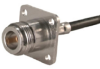 RF Coaxial Cable Mount Connector -- 25N-50-3-7 -Image