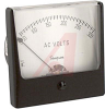 Panel Meter, 0-300ACV, Iron Vane; High Density Black Plastic; + 2% -- 70209435