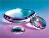 UV Plano-Convex Lens 9mm Dia. x 12mm FL UV-VIS Coating -- NT48-809