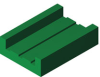 Roller Chain Guide -- HabiPLAST E2 -- View Larger Image