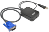 KVM Console to USB 2.0 Portable Laptop Crash Cart Adapter with File Transfer and Video Capture, 1920 x 1200 @ 60 Hz -- B032-VU1