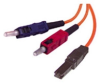 Cables To Go 3-Foot Multimode Duplex Fiber Optic Patch Cable -- 33136