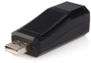 StarTech Compact Black USB 2.0 to 10/100 Mbps Ethernet Netwo -- USB2106S