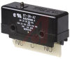 Switch, Basic, DPDT, 10 AMPS, PIN PLUNGER -- 70120132 - Image