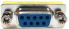 DB9 F/F  Mini Gender Changer (Coupler) -- 10GC-D3 - Image
