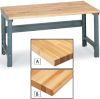 1-1/2 Thick Butcher Block Maple Top Workbenches -- 5520401 - Image