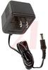 Wall Plug, 7.5 W, 120 VAC 60 Hz In. 6 VDC 0.6A Out, 70x50x41 mm, 6' Cord -- 70218396 - Image