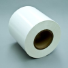 3M™ Electronic Label Materials 7812 Matte White Polyimide Film TT TC, 6 in x 500 ft, 1 per case Bulk -- 7812